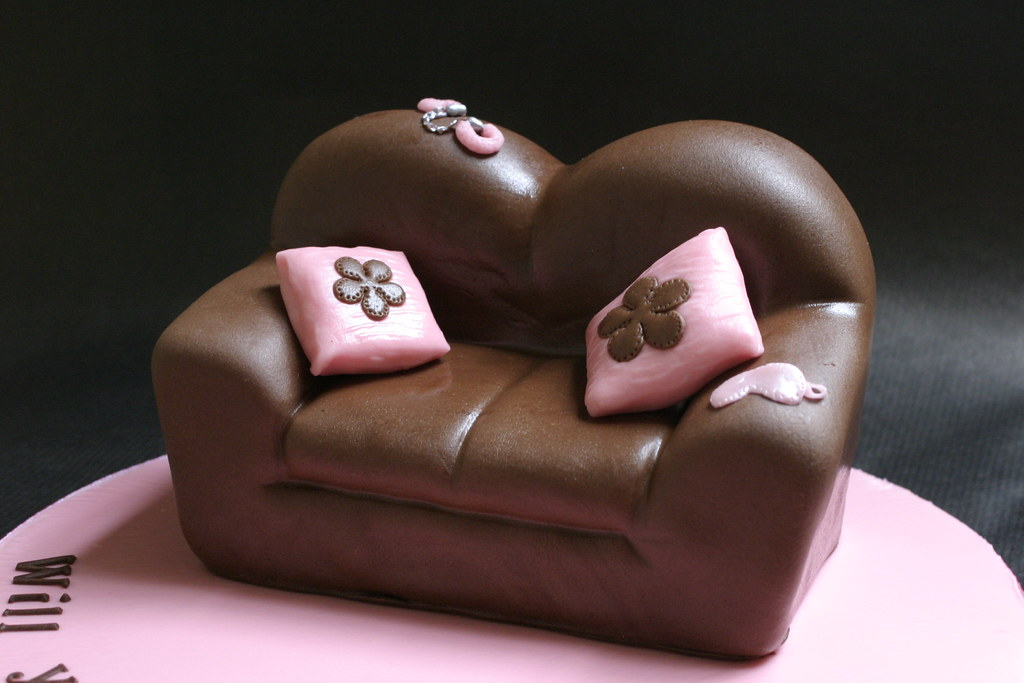 Sofa Cake A Cake For A Bachelorette Party There Is A