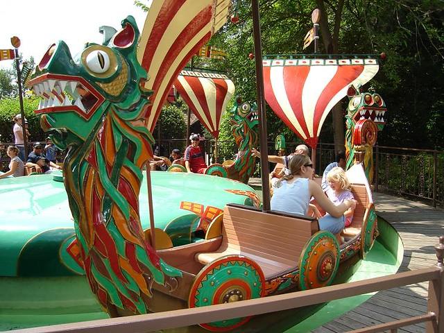 Boat Carousel ride at Marineland. | Niagara Falls: the ...
