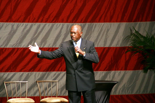 Herman Cain at Hannity - Boortz event-1 | by johntrainor