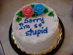 Sorry I'm So Stupid Cake | by ladyxanax