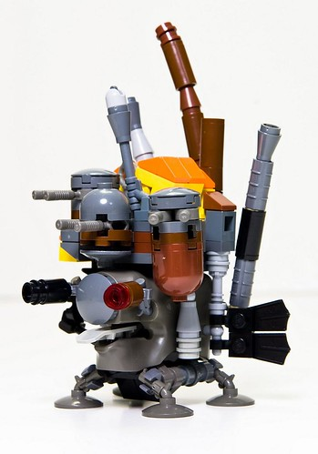 Howl's Moving Castle [microscale] | by Squinty Eyes