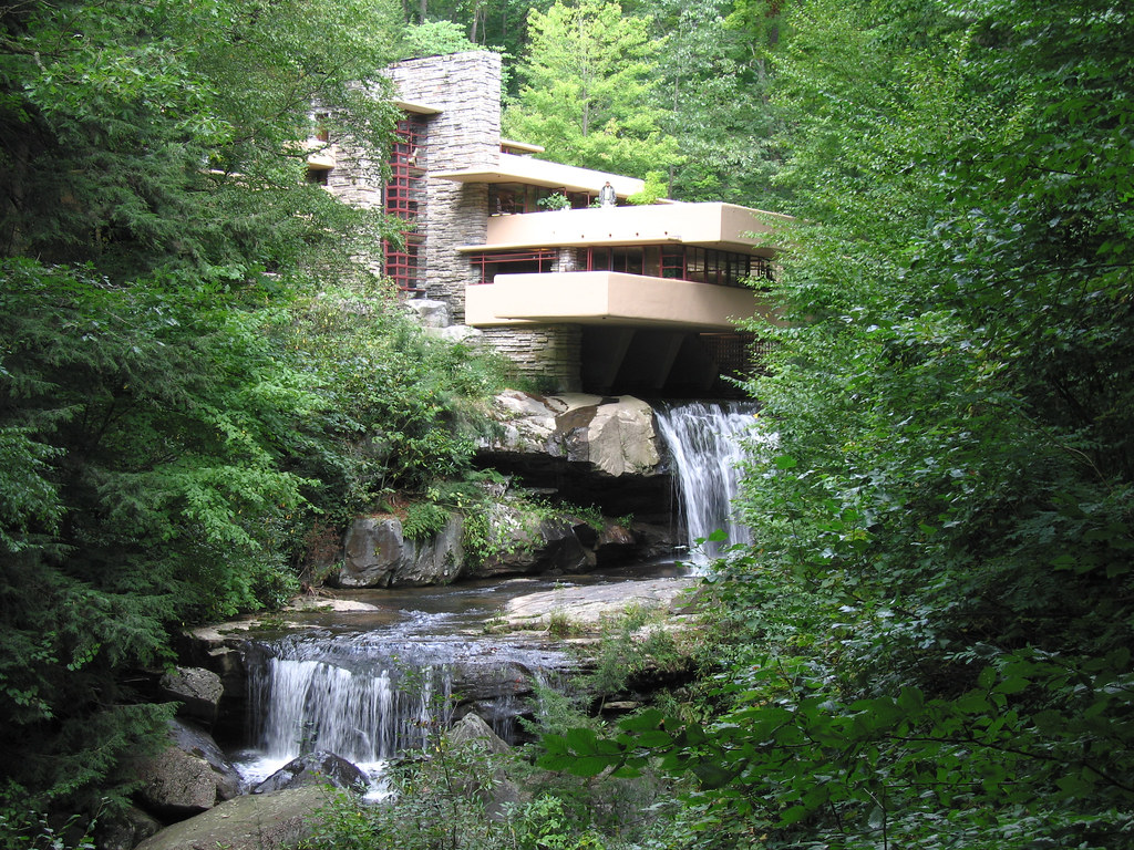 fallingwater house frank lloyd wright 1937 pablo sanchez flickr. Black Bedroom Furniture Sets. Home Design Ideas