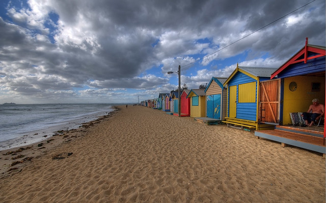 how to get to brighton beach huts melbourne