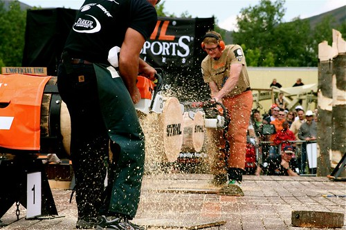 Stihl Timbersports Competition | by Mike Bradshaw - Cursive Q Designs