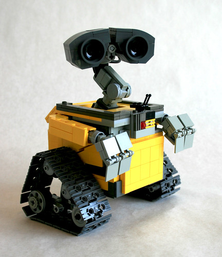 Wall•E 3/4 view | by MacLane