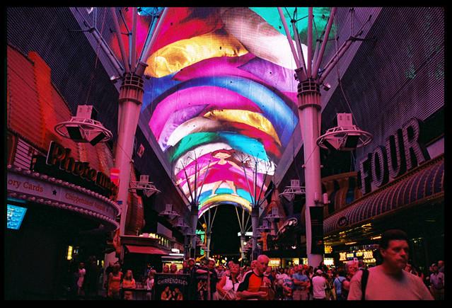 Fremont Street Light Show Vegas Jessica Miklish Flickr