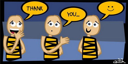 how to say thank you in spanish sign language