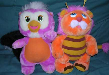 80 S Toys Are Weird But Cute Wuzzles Skowl And Bumblion Flickr