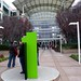 Entrance to Apple Campus