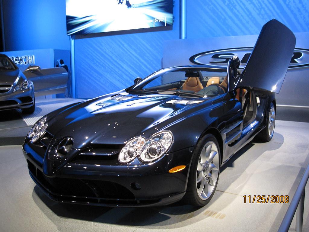 Blue Mercedes Benz Mclaren Slr A Blue Mercedes Benz