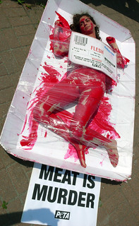 PETA: Meat is Murder | by ecoSanity.org