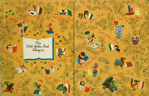 Little Golden Book Endpapers | by wardomatic