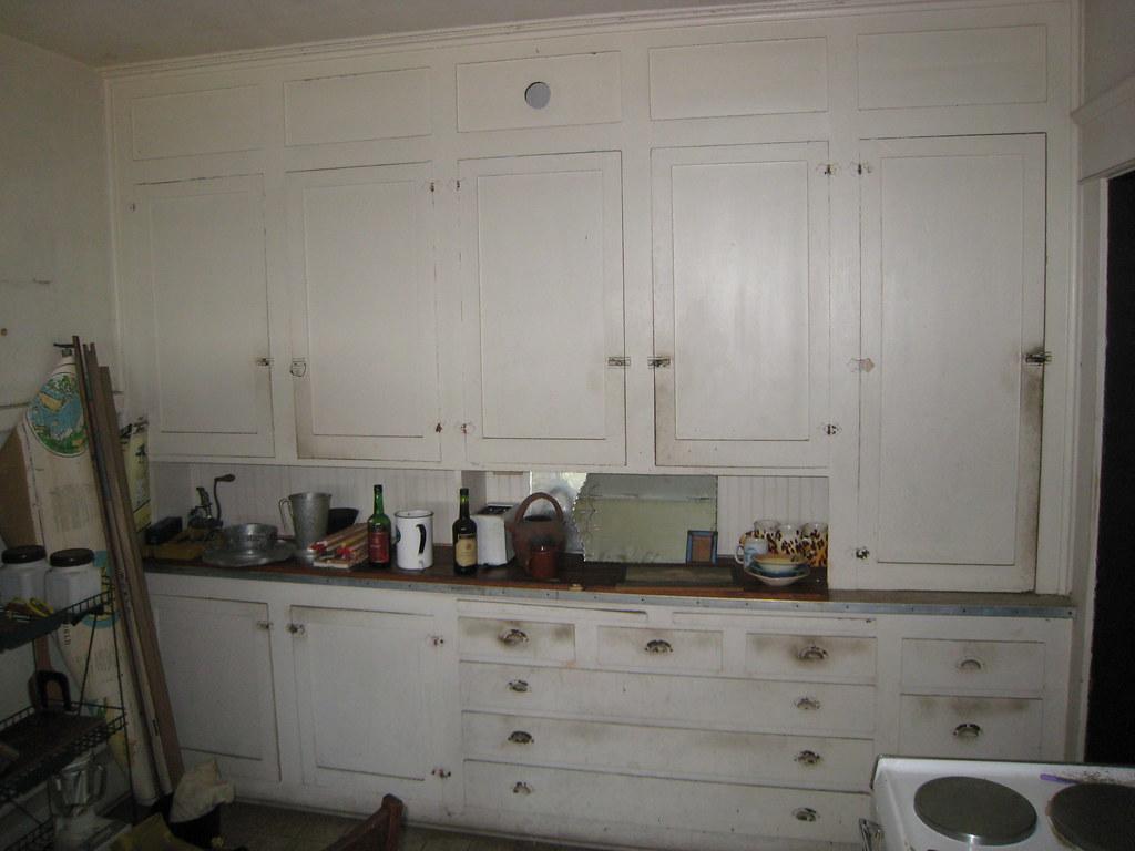 1920s Kitchen Cabinets 1918 Craftsman Bungalow Original Kitchen Cabinets Flickr