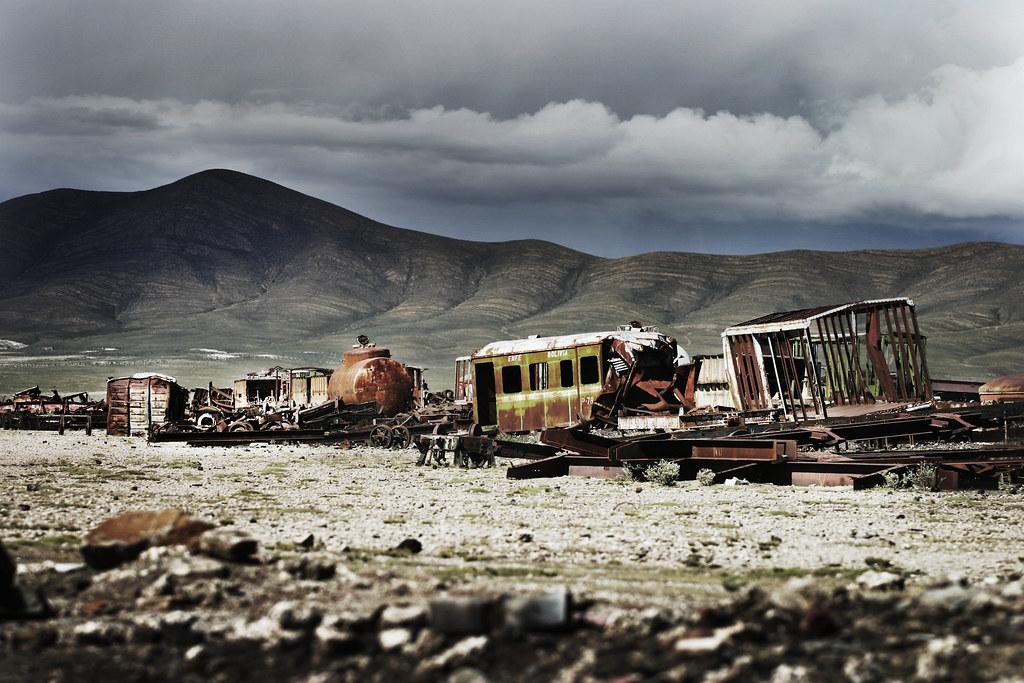 Uyuni Train Cemetery Train Cemetery Uyuni Bolivia
