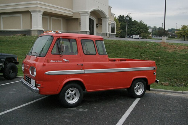 1965 Econoline Pickup | I saw this old truck sitting ...