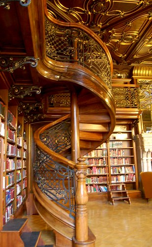 Spiral Staircase, Philosophical Reading-Room | by Curious Expeditions
