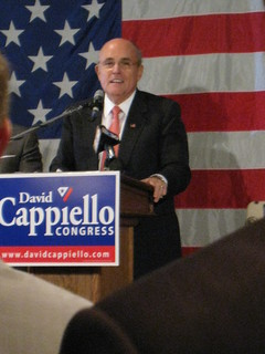Giuliani Headlines Cappiello Fundraiser | by WNPR - Connecticut Public Radio