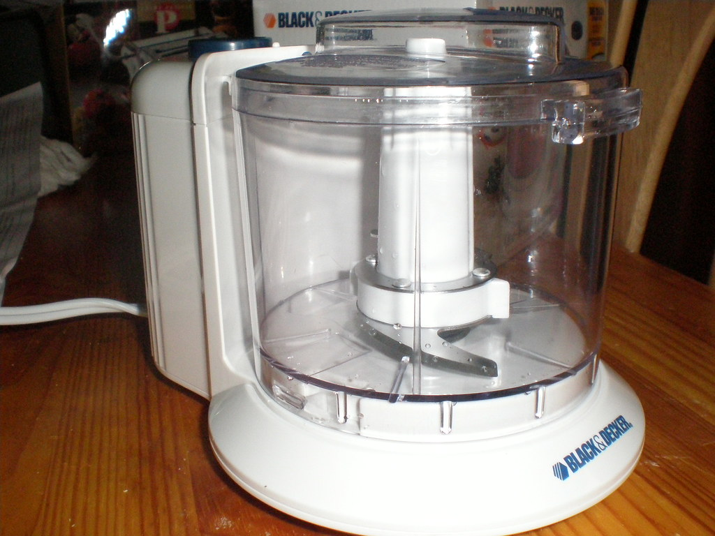 Toy Food Processor : New toy one touch food processor present from my folks