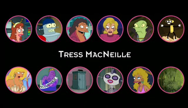 tress macneille disney