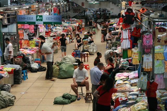 义乌 Night Market: Yiwu's Binwang Market 义乌