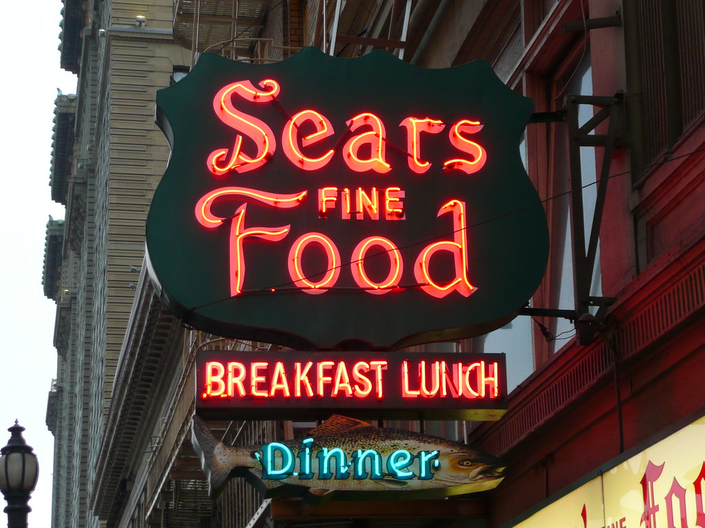 Sears Fine Food San Francisco ca Sears Fine Food | by