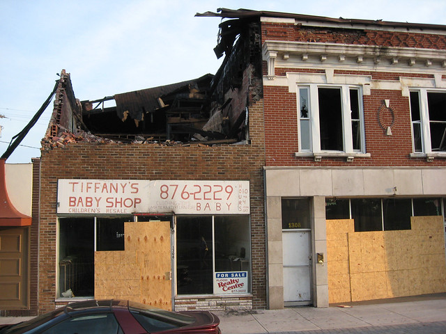 Il Granite City Baby Shop Post Fire Flickr Photo Sharing