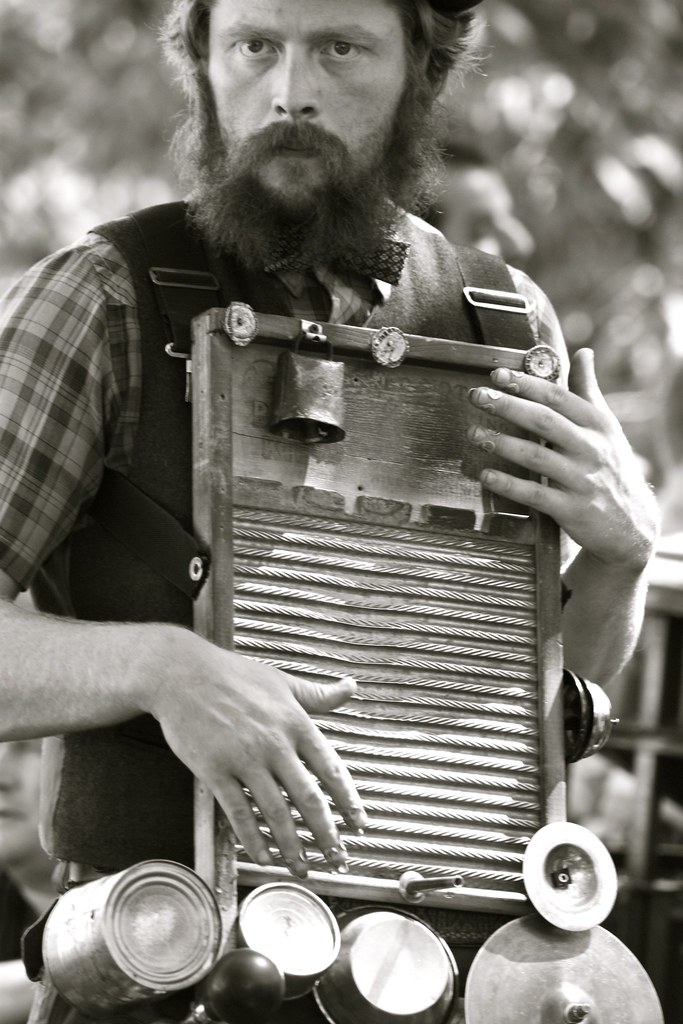 washboard player quite possibly the best instrument of the rachelsavage flickr. Black Bedroom Furniture Sets. Home Design Ideas
