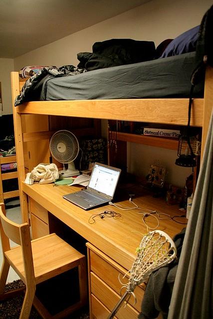 Norwich University Dorm Room
