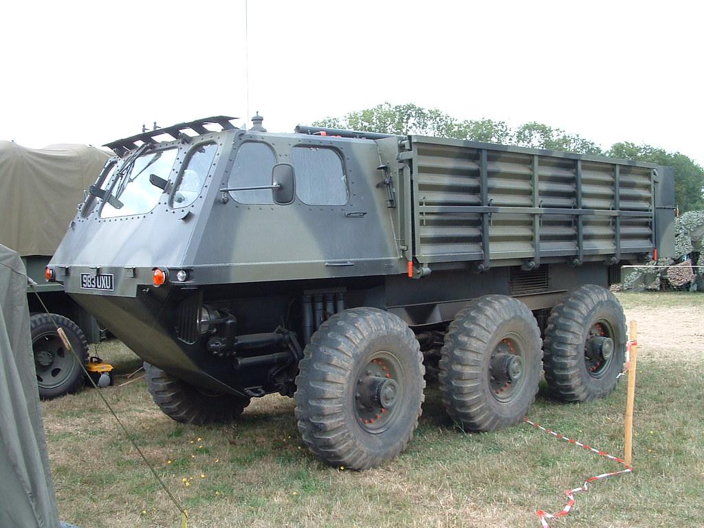 Alvis Stalwart Amphibious truck. | War and peace 2006 ...