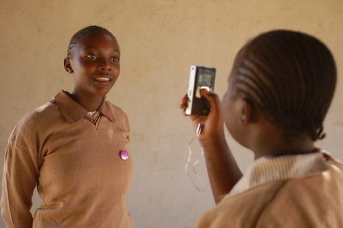 Kids doing interviews on the Flip camera in Kenya | by whiteafrican