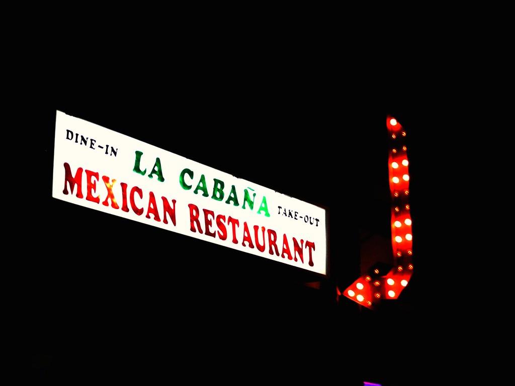 Lacabana Mexican Restaurant Menu Mobridge Sd