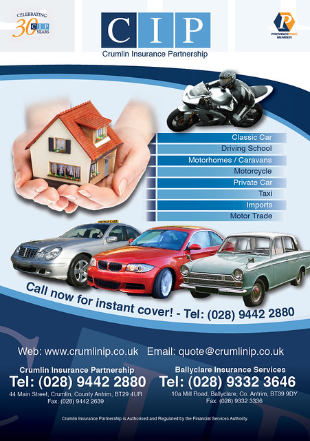 A5 flyer Crumlin Insurance Partnership | Tim Proctor | Flickr
