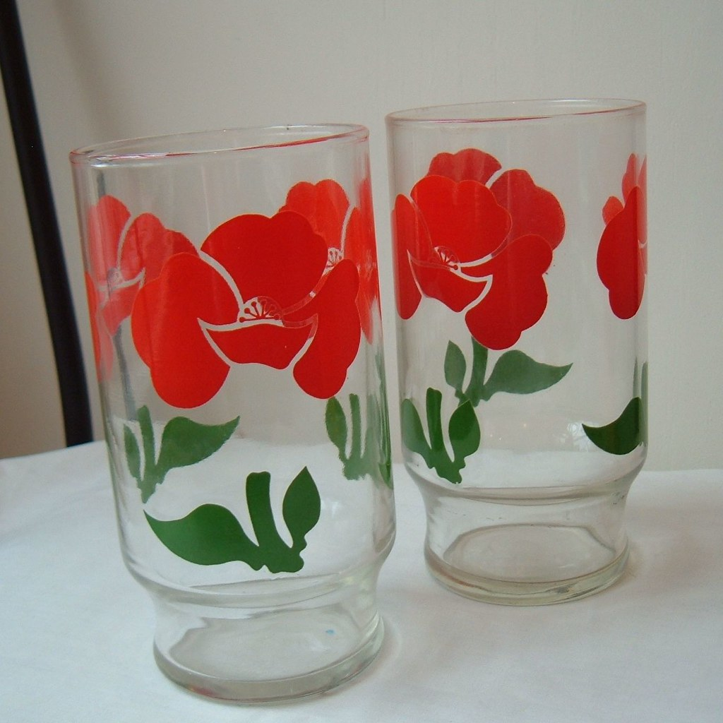 Where To Get Red Drinking Glasses