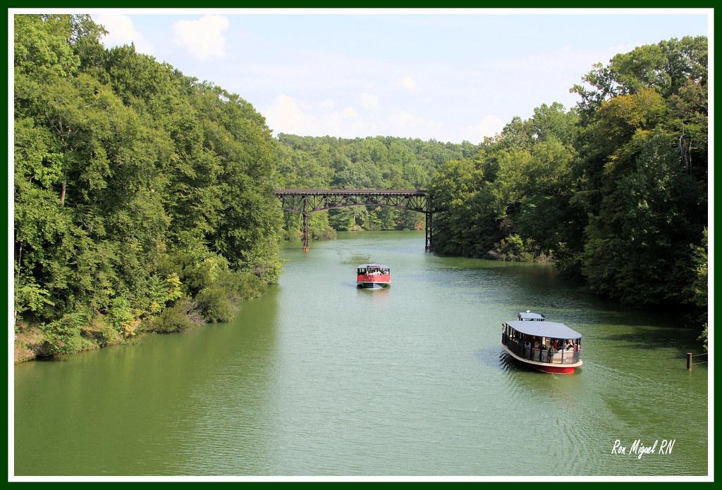 Boat Ride Bush Garden Virginia Copyright 2008