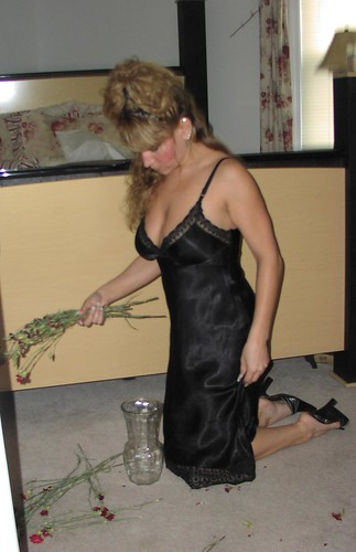 Tracey Black Lace Slip 15  Flickr - Photo Sharing-4532