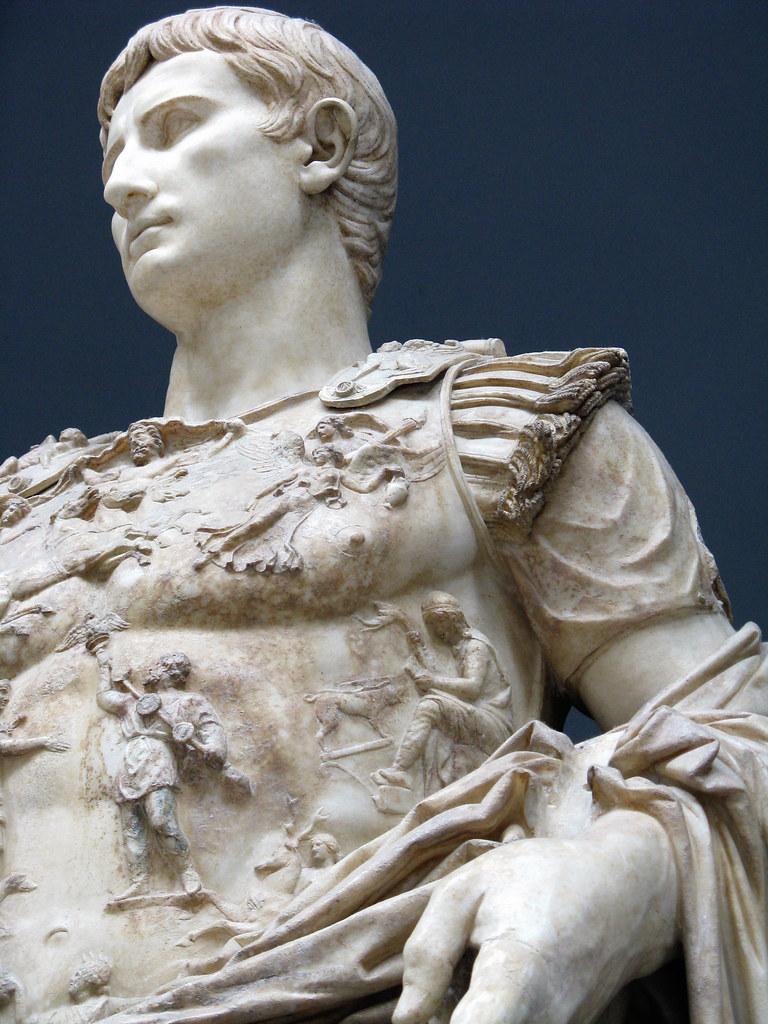 Augustus Prima Porta | Also that sculptural breastplate ...