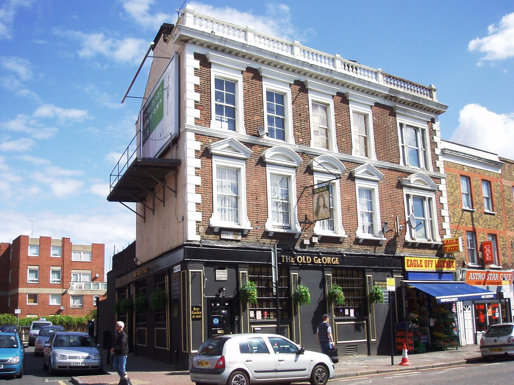 old george bethnal green e2 another locals 39 pub on. Black Bedroom Furniture Sets. Home Design Ideas