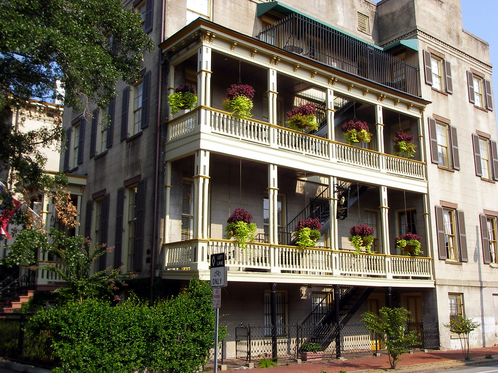 Charleston Style Residence Savannah Ga Woody Flickr