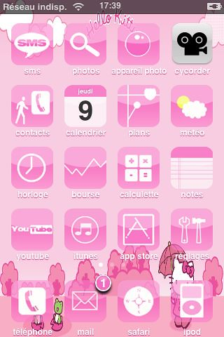 theme message iphone 4 gratuit