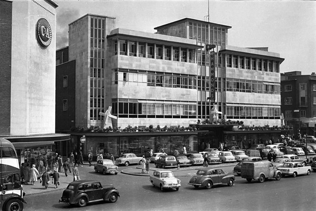 Zz Top Car >> Hammonds   Hammonds frontage in the early/mid 1960s, viewed …   Flickr