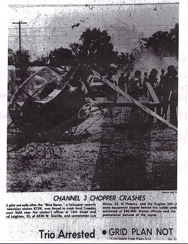Channel 3 Crash September, 1979 | by 3fan4eva