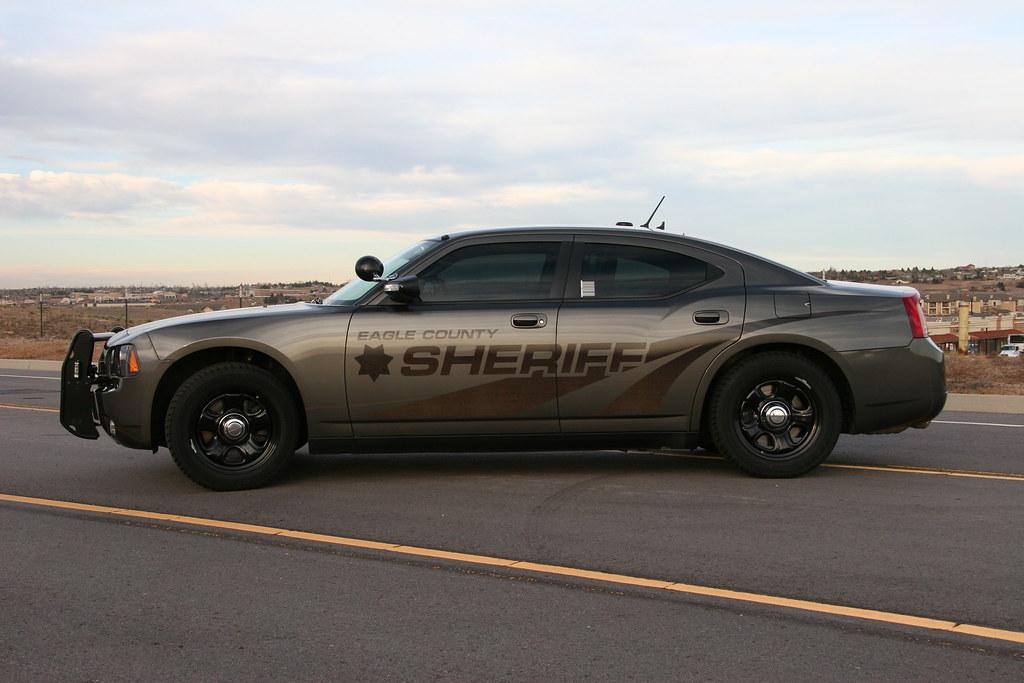 Eagle County Sheriff Charger Colorado Subdued Eagle