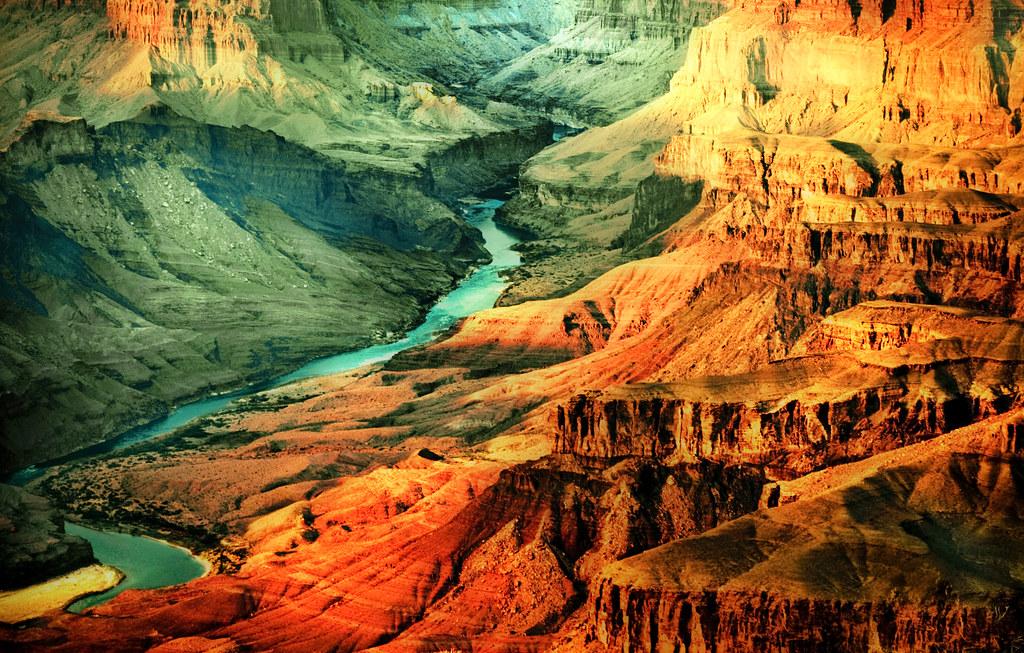 Grand Canyon dans l'ouest américain