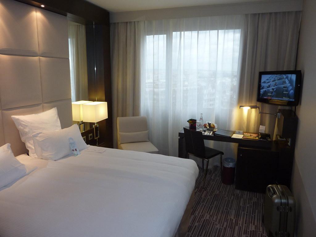 Concorde Lafayette Hotel Paris Room 425 Gary Bembridge