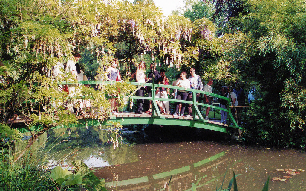 Giverny Casa Monet Giardino Giapponese Ponte Giappon