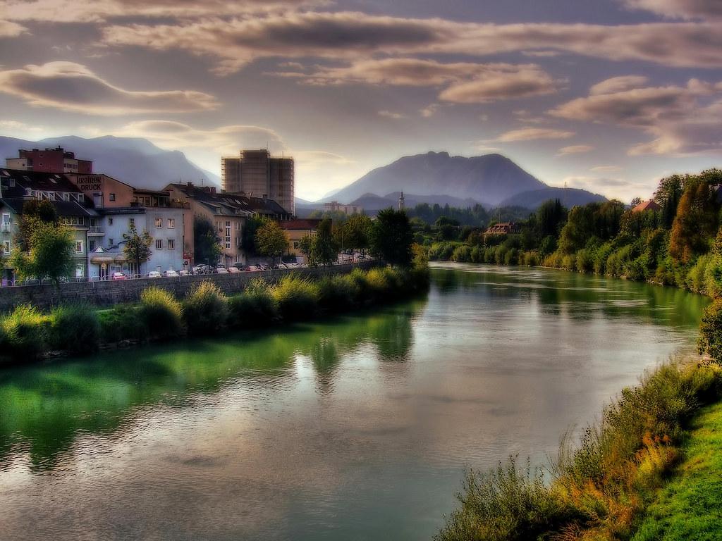 Villach Austria  city photos gallery : Villach/Austria Drau river | Flickr Photo Sharing!
