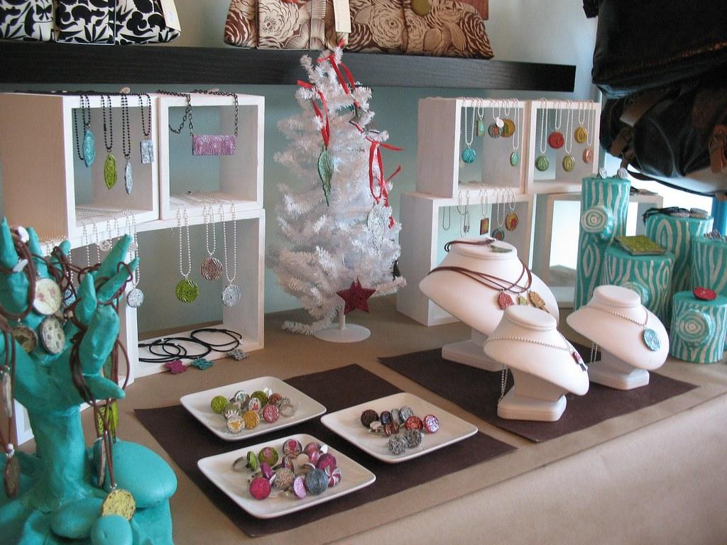 Craft Stalls At Bon Accord Centre Aberdeen