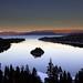 Emerald Bay before sunset