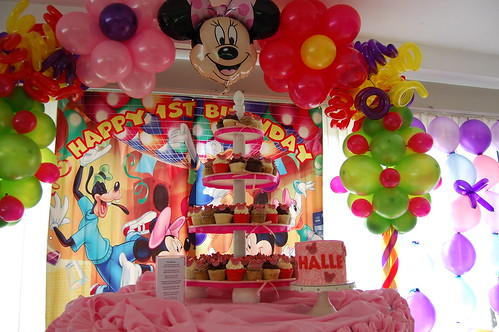 Halle 39 S Minnie Mouse Birthday Party Flickr Photo Sharing