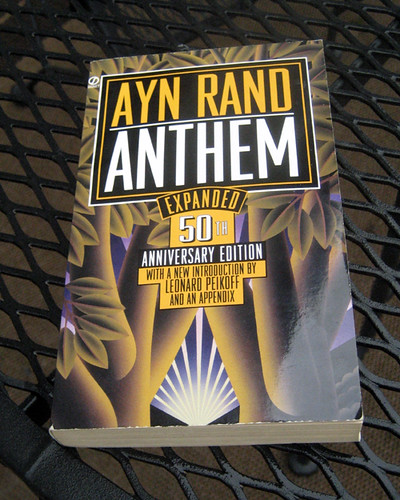 the future dark ages in ayn rands novel anthem Of years in the future the world state in this novel is a level of the dark ages like brave new world, anthem is set in a in anthem ayn rand's goal.